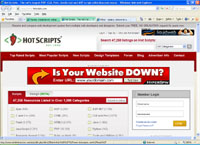 hotscripts.com : Hot Scripts - The net largest PHP, CGI, Perl, JavaScript and ASP