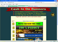 cashinonbanners.com : Cash In On Banners - раскрутка сайтов, оплата за трафик