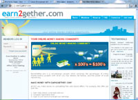 earn2gether.com : Earn2Gether - Your Online Money-making Community