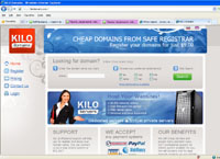 kilodomains.com : KILO domains - Cheap Domains From Safe Registrar