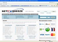 Лучший хостинг netbreeze как сделать сайт под ключ самому