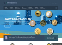 Swift Brokerage Ltd. started its activities in the financial market in 2011 in the UK (United Kingdom) and it used to invest in Forex. (swiftbrokerage.com)