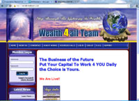 wealth4allteam.com : WEALTH4ALLTEAM INC. : The Business of the Future. Put Your Capital To Work 4 YOU Daily. The Choice is Yours.